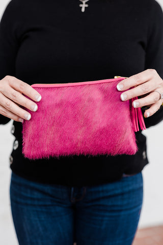 Hyde Pink Mini Clutch