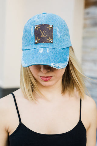 Baseball Hat - Upcycled - Denim