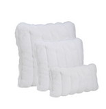 Fabulous Furs Signature Series White Mink Faux Fur Pillows