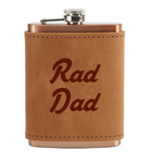handmade leather fask leather can sleeve Oowee Products autism autistic fathers day gift valentines day mens gift rad dad