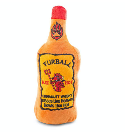 Furball Cinnamutt Whisky Dog Toy