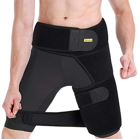 One-sided Thigh Brace