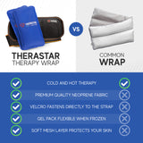 Hot and Cold  Therapy Wrap + 2 Flexible Gel Ice Packs