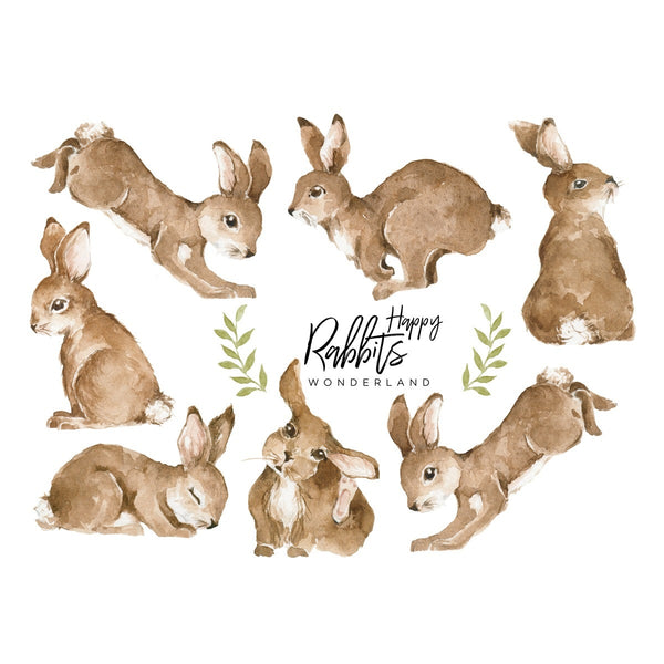 Happy Rabbits Wonderland