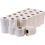 40 rolls of toilet tissue