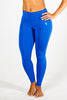 Ankle-Length Wide Band Performance Yoga Pants