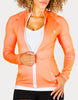 Fitted Long-Sleeve Athletic Jacket