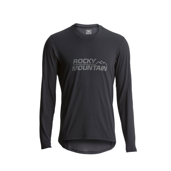 Men's Long Sleeve CC Shirt (Black)