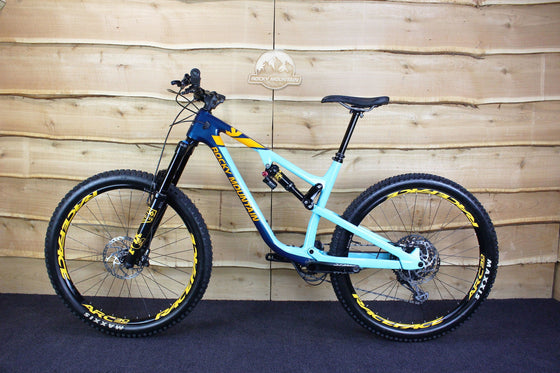 Ex-Demo 2019 Altitude Carbon 70 (Blue / Blue / Yellow)