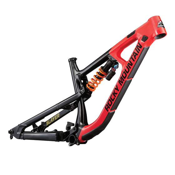 Slayer Carbon Frame 27.5 Inch (Black / Red / Brass)