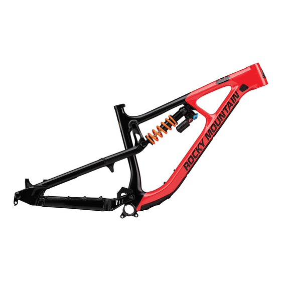 Slayer Carbon Frame 29 Inch (Black / Red / Brass)