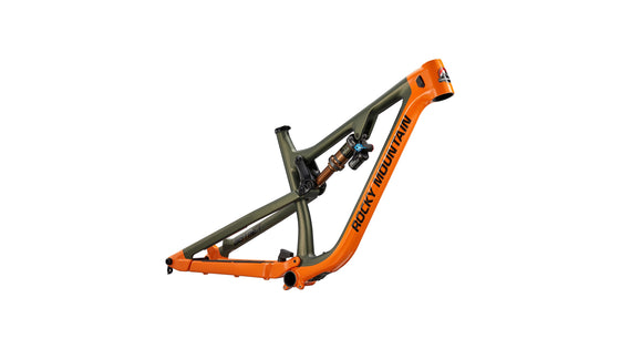 Instinct Carbon BC Edition Frameset (Orange / Green / Black)