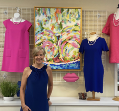 Debbie Shough, Owner of etc Consignment Shoppe in Winston-Salem, NC