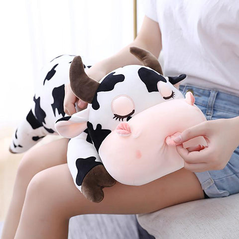 Kawaii cow plush