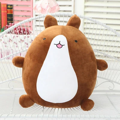 kawaii potato bear plush