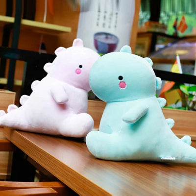 kawaii dinosaur plush