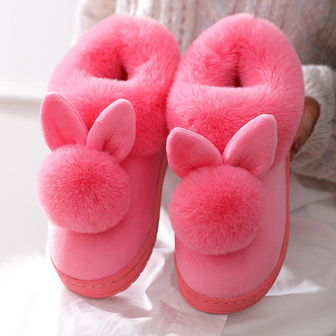 Kawaii fluffy slippers