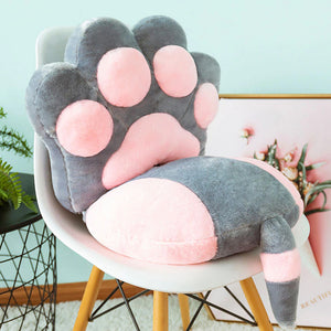 Kawaii Cat Paw Cushion (Pair)