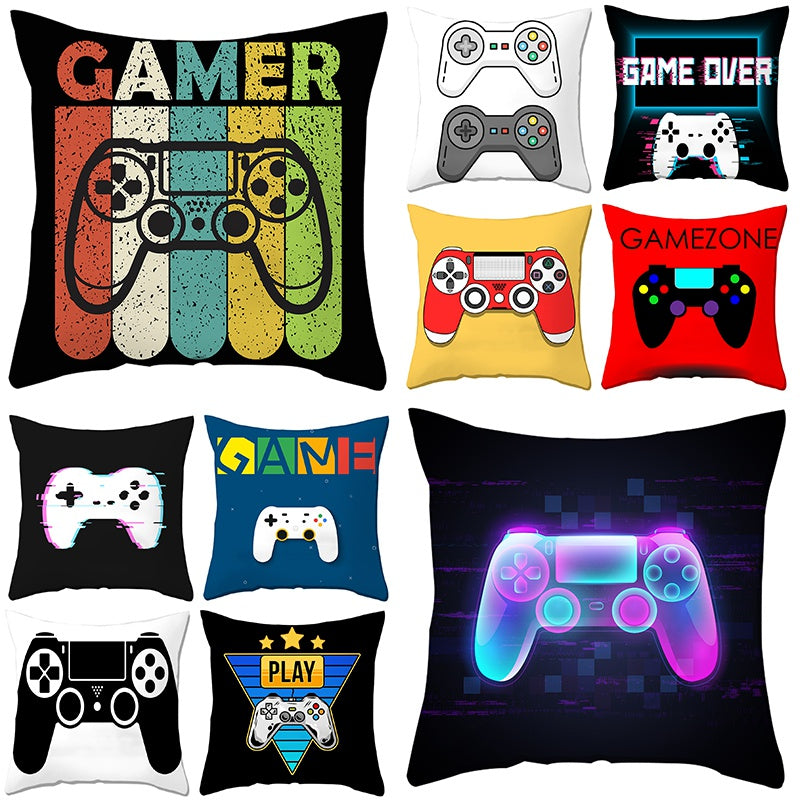 Kawaii Gamer Print Cushion