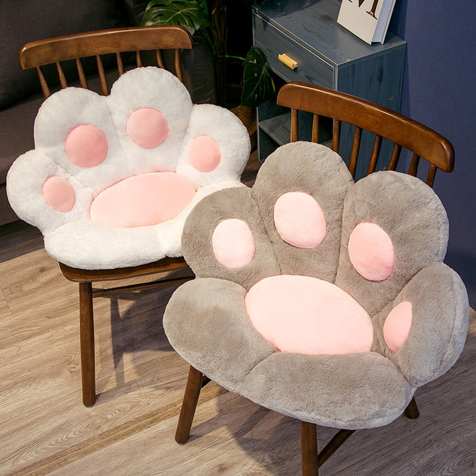 Kawaii Cat Paw Cushion