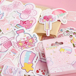 Kawaii Planner & Diary Stickers (46 pc)