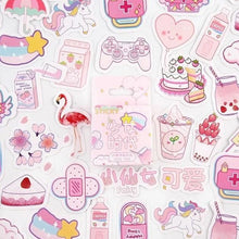 Load image into Gallery viewer, Kawaii Planner & Diary Stickers (46 pc)