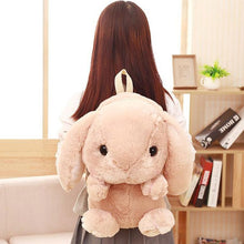 Load image into Gallery viewer, Bunny Plush Backpack