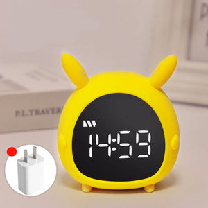 Kawaii Led Alarm Clock (Chargeable)