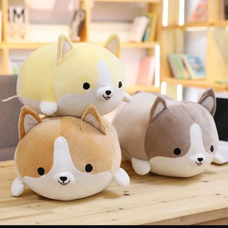 Ridiculously Cute Fat Corgi Plush