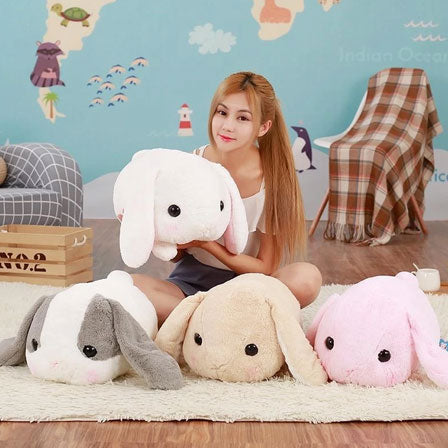 Kawaii Long Ears Bunny Plush
