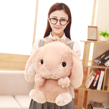 Load image into Gallery viewer, Kawaii Bunny Plush Backpack