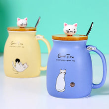 Load image into Gallery viewer, Kitten Coffee Ceramic Mugs