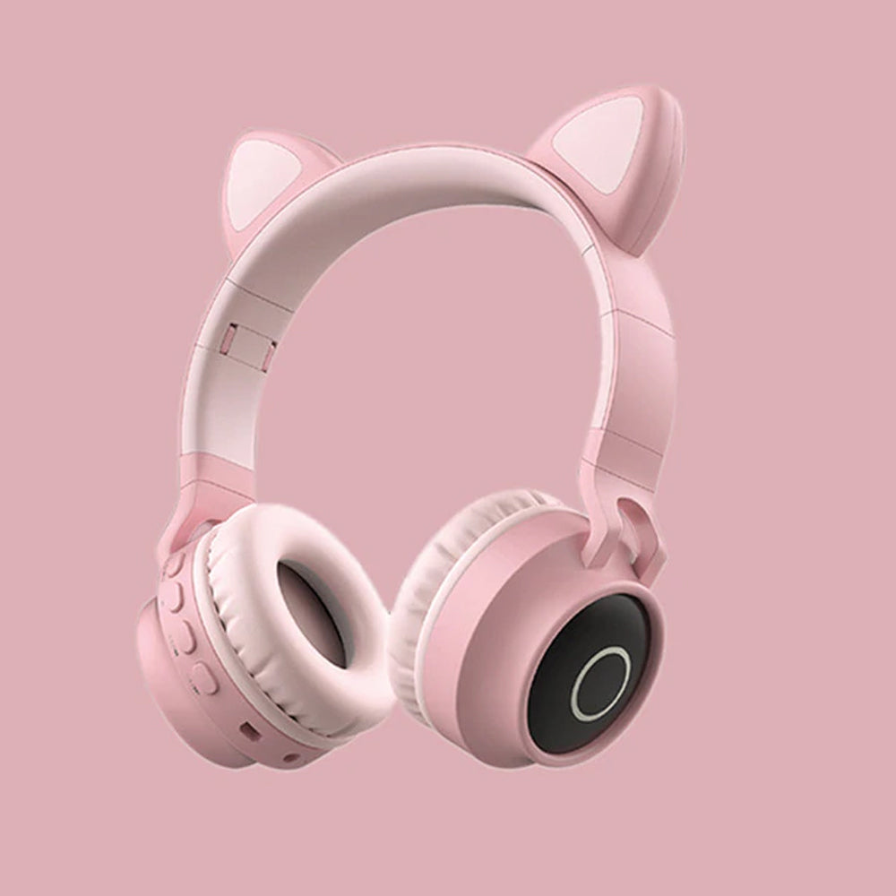Kawaii Cat Bluetooth Wireless Headphone