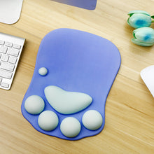 Load image into Gallery viewer, Kawaii 3D Cat Claw Mouse Pad