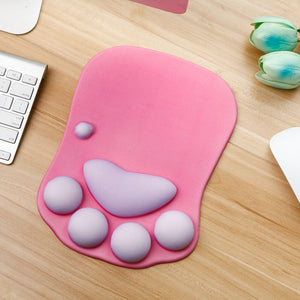 Kawaii 3D Cat Claw Mouse Pad