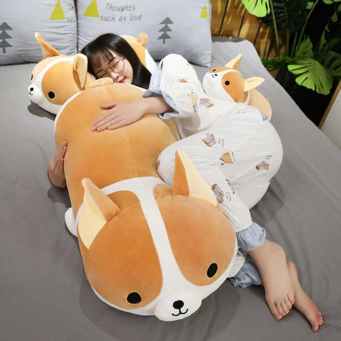 Kawaii Corgi Dog Plush