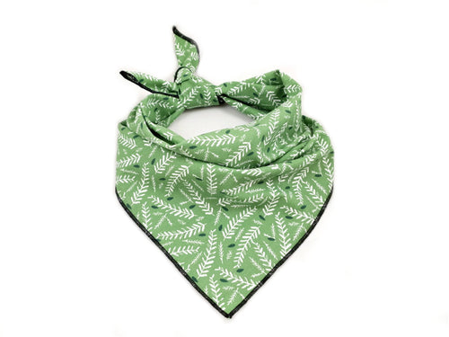 Bandana 'Green Leaves'