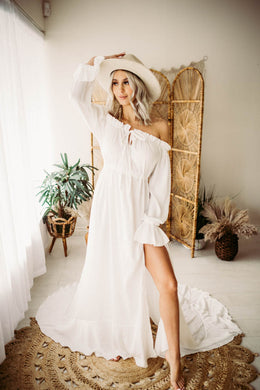 Cottage Dress- White