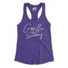 Gorilla Strong Racerback Tanks