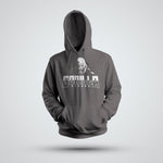 GORILLA STRONG LOGO GUNMETAL HEATHER PERFORMANCE HOODIE