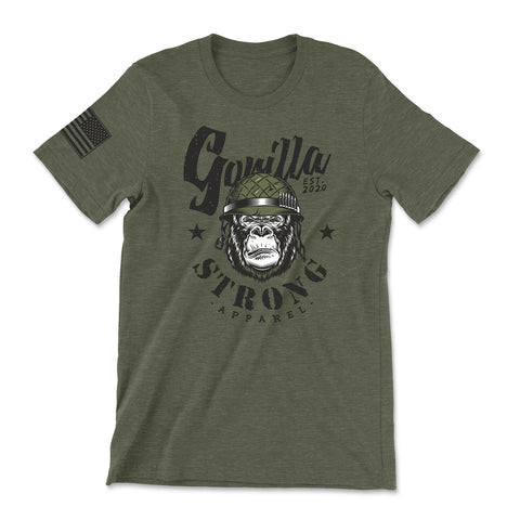 GORILLA MILITARY Heathered Tee