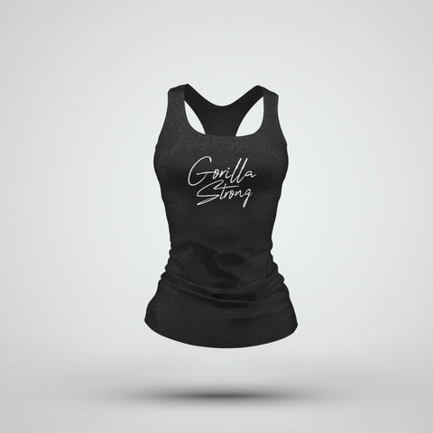 Strong Womens Tank (Black)