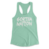 Gorilla Nation Racerback Tanks