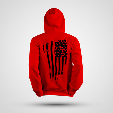 GORILLA NATION RED PERFORMANCE HOODIE