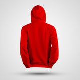 GORILLA STRONG LOGO RED PERFORMANCE HOODIE