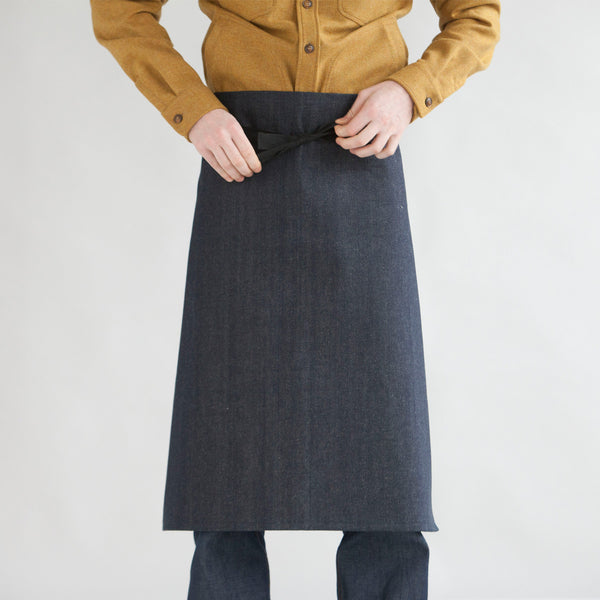 Half Apron - Japanese Denim