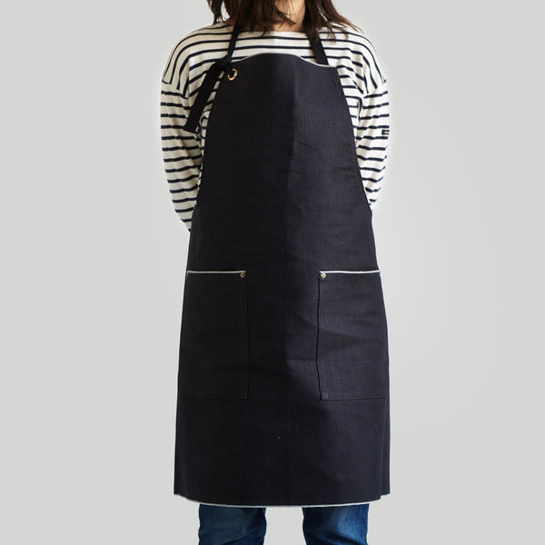 Full Apron - Japanese Denim