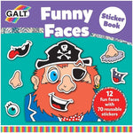 Funny Faces Sticker Book (Komik Suratlar Çıkartma Kitabı)