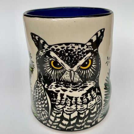 Great Horned Owl Cup