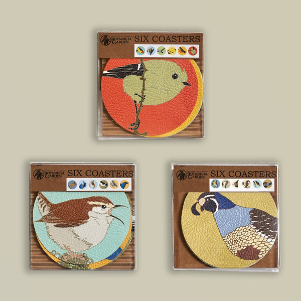 Coasters:  Birds of the UC Botanical Garden